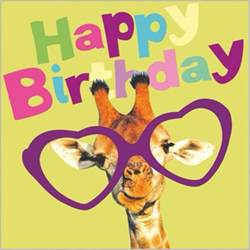 giraffe birthday card happy birthday giraffe with quote pictures photos