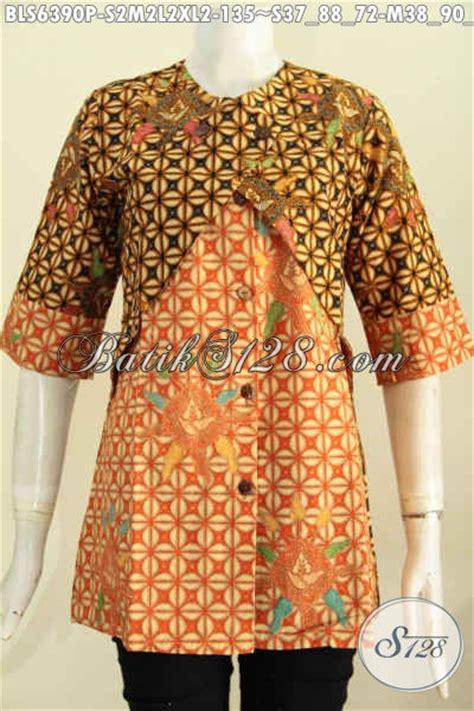 Rompi Bagus pakaian batik wanita terkini hadir dengan desain berkelas kombinasi rompi baju batik