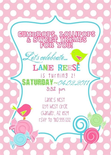 Candyland Baby Shower Invitations by Invitation Change It Up For Baby Shower Baby Shower