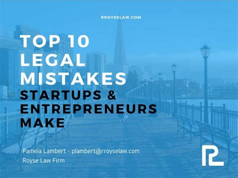 Organizations 10 Mistakes That Most Make by Top 10 Mistakes Startups Entrepreneurs Make