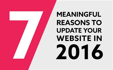 7 Reasons To Update Your Work Out by 7 Meaningful Reasons To Update Your Website In 2016 Lightbox
