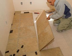 Installing a Tile Pattern Laminate Floor   Extreme How To