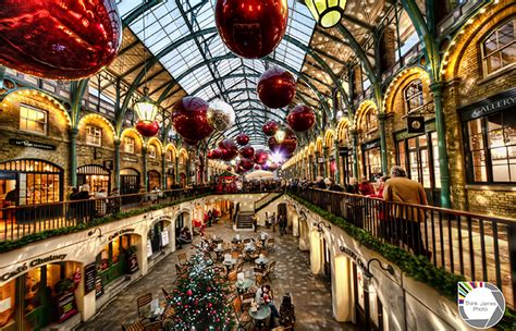 christmas decorations in wandswarth shopping centre london spreading cheer edition relocated