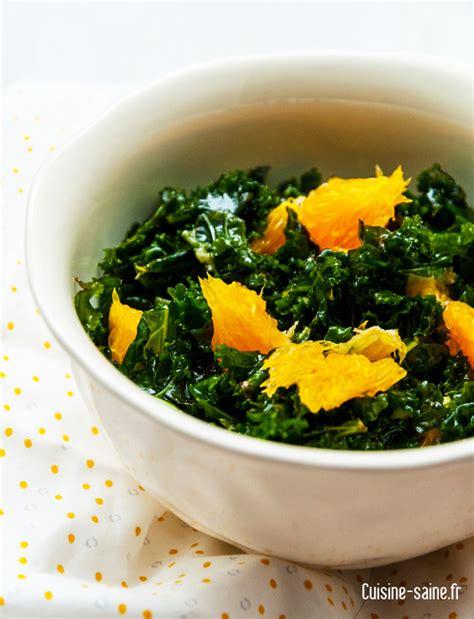 Detox Recette by Recette D 233 Tox Salade De Chou Kale Cuisine Saine
