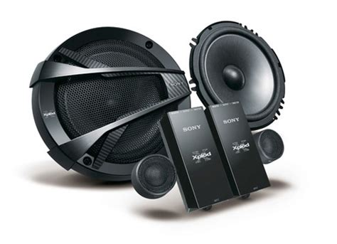 Sony Xsn1620c 6 1 2 16cm Range Component Speaker sony xs n1620c 6inch component speakers driving sound