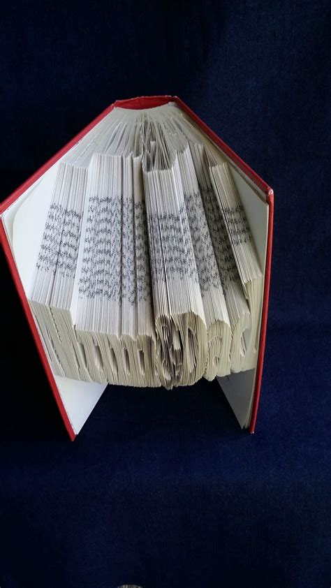 book folding book origami book sculpture felt
