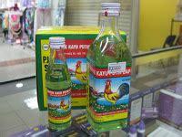 Minyak Kayu Putih Cap Lang Paling Besar from tapah to jerantut with minyak untuk bayi