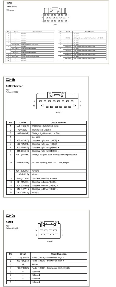 05 explorer radio wiring diagram 05 free engine image