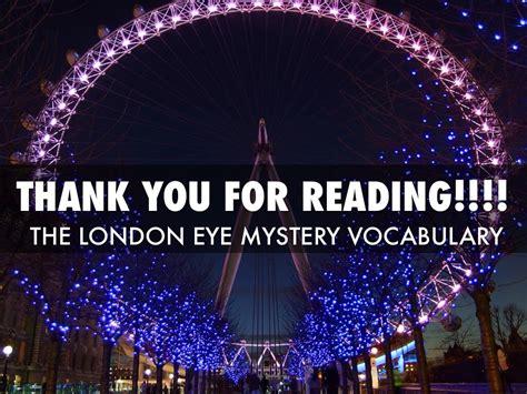 themes in the london eye mystery the london eye mystery by hannah johnson
