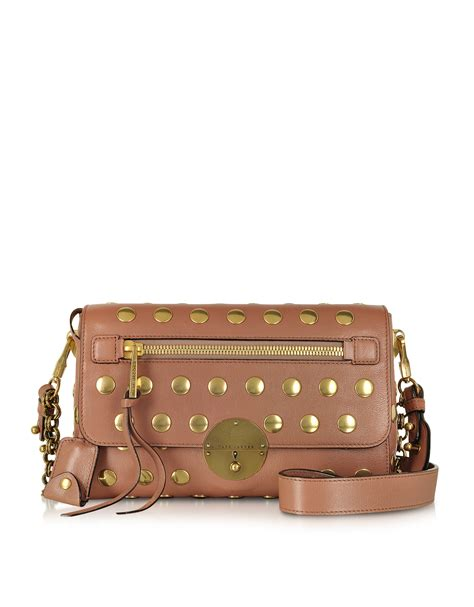 Marc Studded Leather Bag by Marc Small Gotham Studded Leather Shoulder Bag In