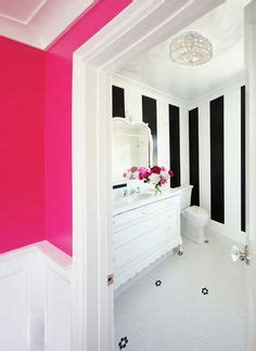striped wallpaper for bathrooms 1000 images about powder room on pinterest powder rooms