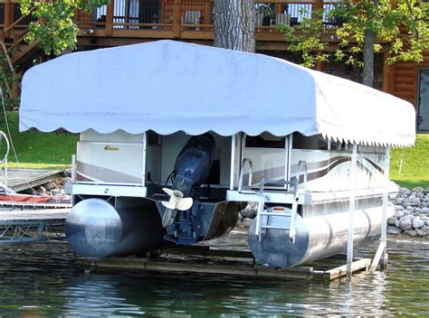 vibo boat lift canopy covers daka boat lift canopies boatcovers