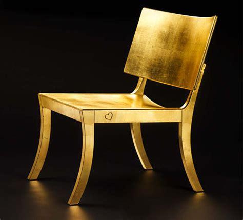 Golden Chairs by Designer Chair By Fredrik Mattson New Golden Chair