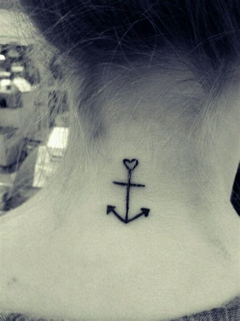 anchor and cross tattoo anchor cross tat my style at the