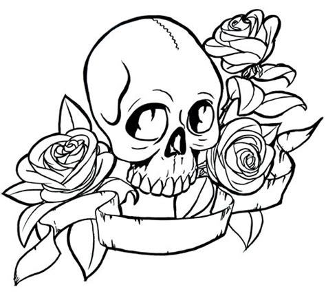 coloring pages of hearts and skulls rose skull coloring page coloring book