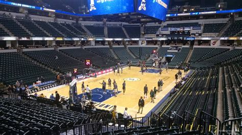 what is a section 20 bankers life fieldhouse section 19 indiana pacers