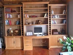 wall unit desk combo