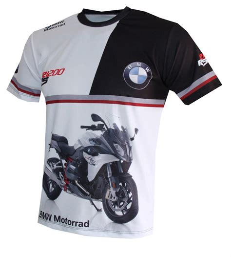 bmw r1200rs t shirt with logo and all printed picture