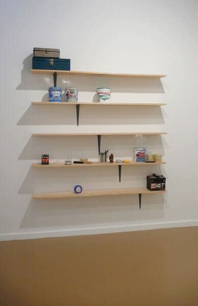 pictures of shelves do not touch shelves by daniel eatock bookcase