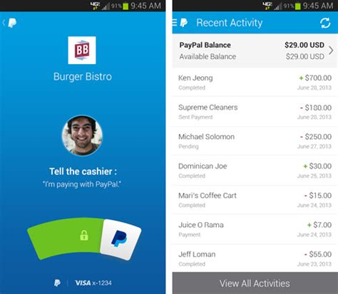 paypal for android top 10 best free android apps for