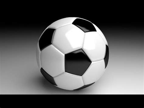 blender tutorial tutor4u blender tutorial soccer ball with stitching youtube