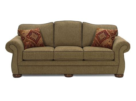 Craftmaster Living Room Three Cushion Queen Sleeper Sofa Craftmaster Sleeper Sofa