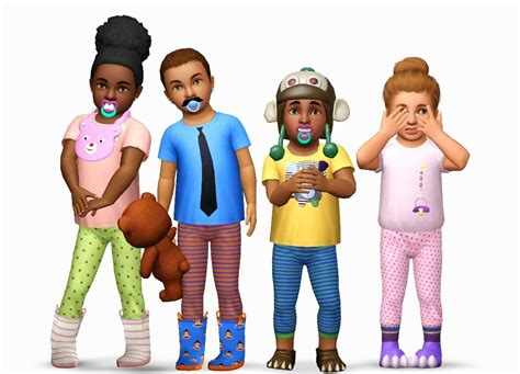 Sims 3 Toddler Accessories | my sims 3 blog toddler accessories by yosimsima