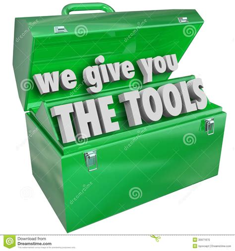on the job training clipart we give you the tools toolbox valuable skills service