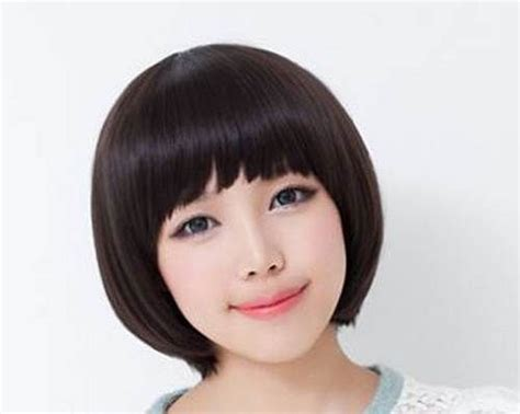 short hairstyle for round face korean little girls short hairstyles interesting korean girl