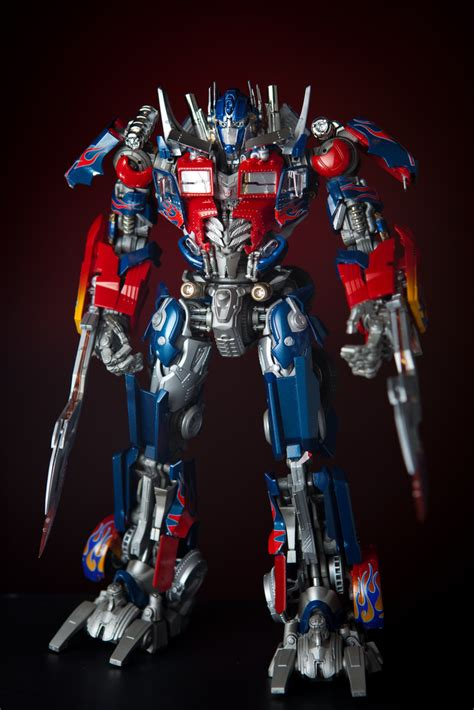 transformers painting transformers dual model kit dmk01 optimus prime custom