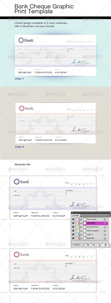 Mock Cheque Vector Design 187 Dondrup Com Mock Cheque Template