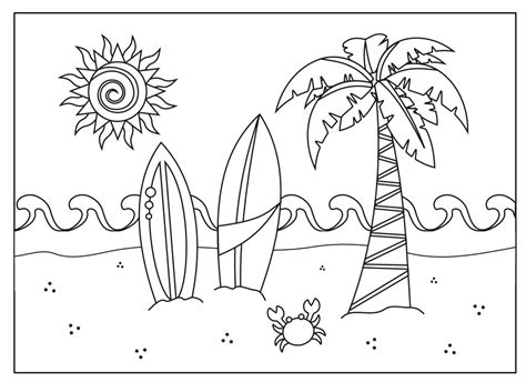 summer coloring sheets 243 summer coloring pages for