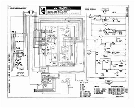 simple refrigerator wiring diagram wiring diagram database