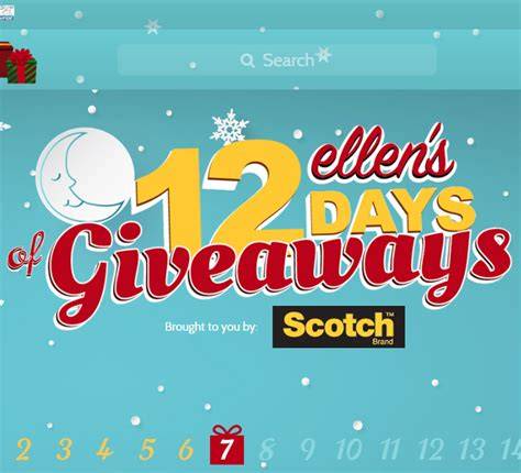How To Get Tickets To Ellen S 12 Days Of Giveaways - ellen degeneres tickets 12 days of christmas christmas cards