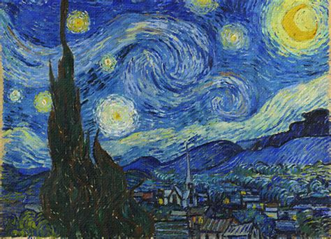 Digital Original vincent gogh painters michelangelo jmw
