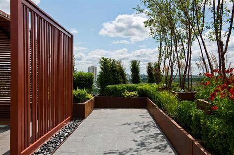 chelsea creek dockside house london roof terraces phase  aralia garden design landscape