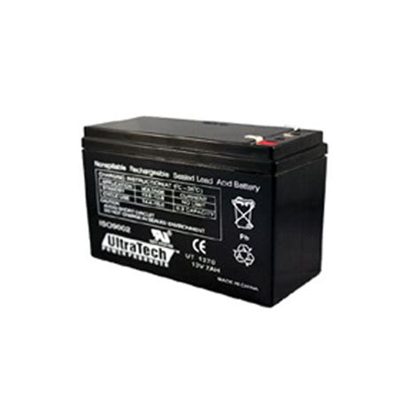 ultra tech ultra tech 1270 12v 7ah battery advanced security llc