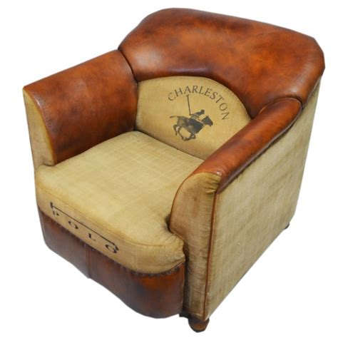 Aged Leather by Aged Leather Brown Vintage Armchair