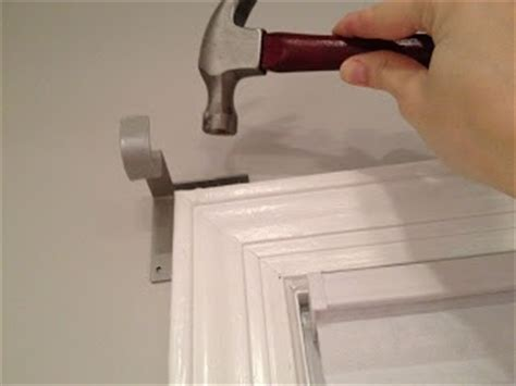 curtain rod no holes pin by manda jane on home style window treatments pinterest