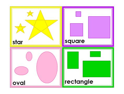 free shaped card templates free printable shapes classroom printable