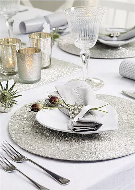 silver place settings 34 wedding placemats for every style and theme weddingomania