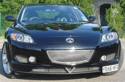mazda rx8 front grill rx 8 styling grille for the large front grille part