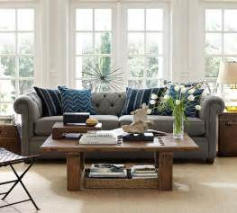 Decor for living room design of living room pottery barn home pottery