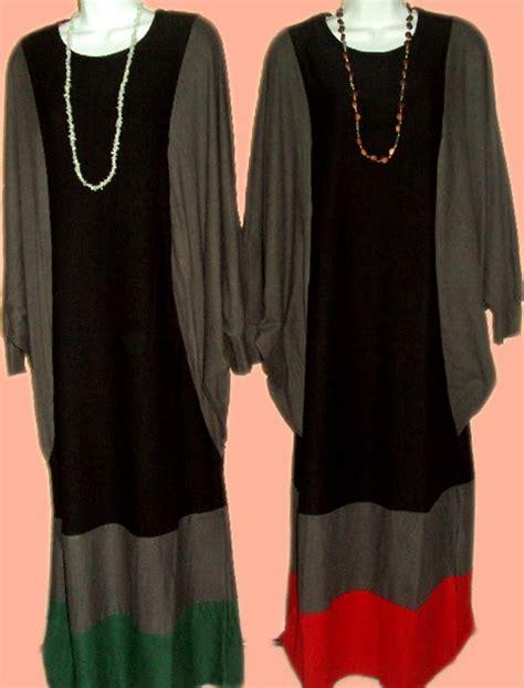 Maxi Adresia Hitam Coklat my eshoppe jubah trendy maxi kaftan