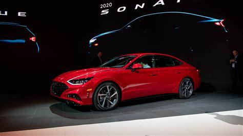 New York Auto Show 2020 Hyundai by 2020 Hyundai Sonata Ready To Shine Brightly