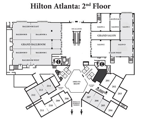 hilton hotel room layout blueprint map of atlanta related keywords blueprint map