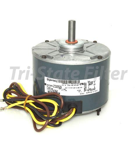 ge condenser fan motor oem ge genteq a c condenser fan motor 1 4 hp 208 230v