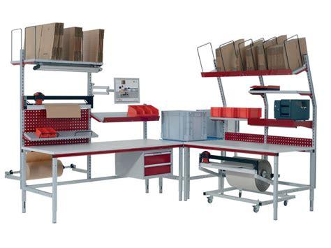 bureau logistique table d emballage system flex contact pack sa