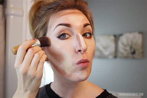 tutorial makeup base makeup base contouring tutorial how to apply foundation