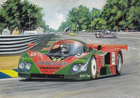 1991 le mans mazda le mans 1991 mazda 787 andrew purcell
